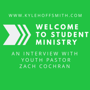 welcome to student ministry